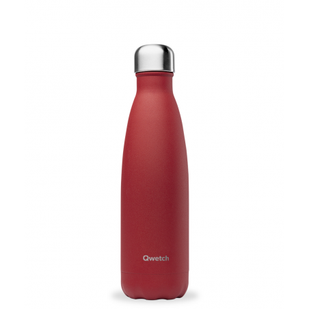 Bouteille Isotherme Inox - 500mL - Granite Rouge Piment